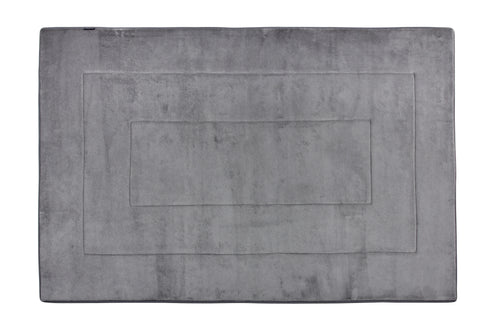 Memory Foam Area Rug, 40 x 64 in, Slate Grey