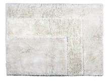 Chenille Area Rug, 36 x 47 in, Ivory