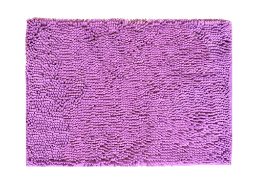 Chenille Accent Rug, 18 x 28 in, Lavender