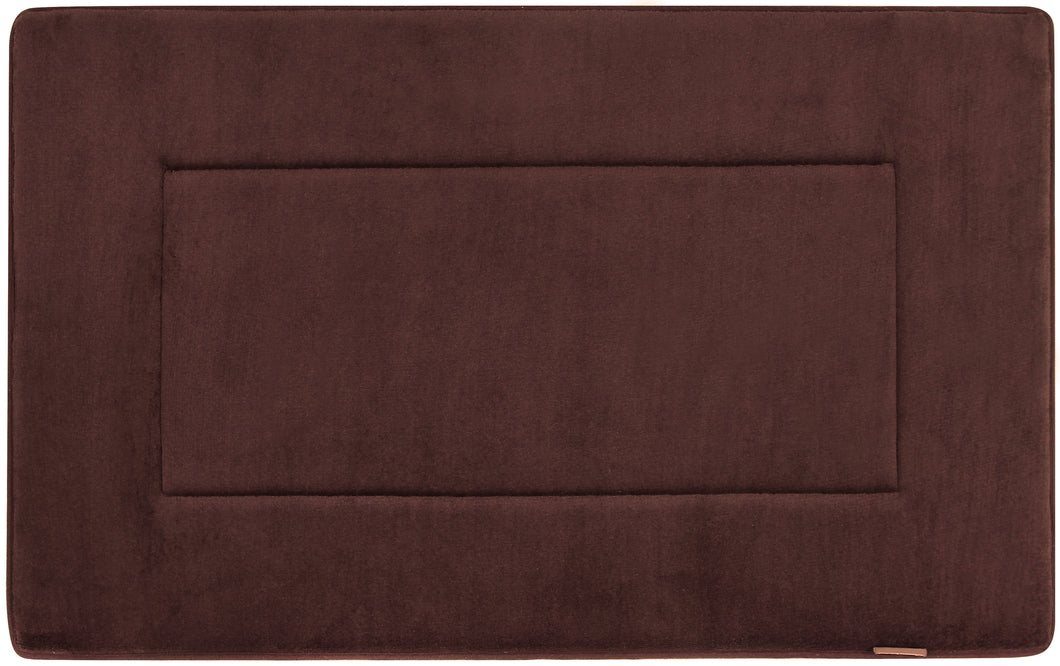 Memory Foam Bath Mat in Coffee Brown, 21 x 34 in