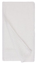 Diamond Jacquard Towels, Bath Towel Set - 10 Piece, White