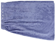 Extra Plush Bath Wrap + Hair Turban Set - Periwinkle Blue