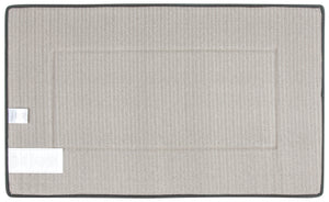 Memory Foam Bath Mat in Slate Grey, Large 21 x 34 in