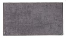 Flat Loop Bath Towel - 1 Piece, Charcoal