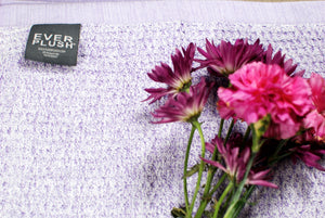 Diamond Jacquard Towels, Bath Towel - 2 Pack, Lavender
