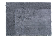 Chenille Area Rug, 36 x 47 in, Pewter Grey