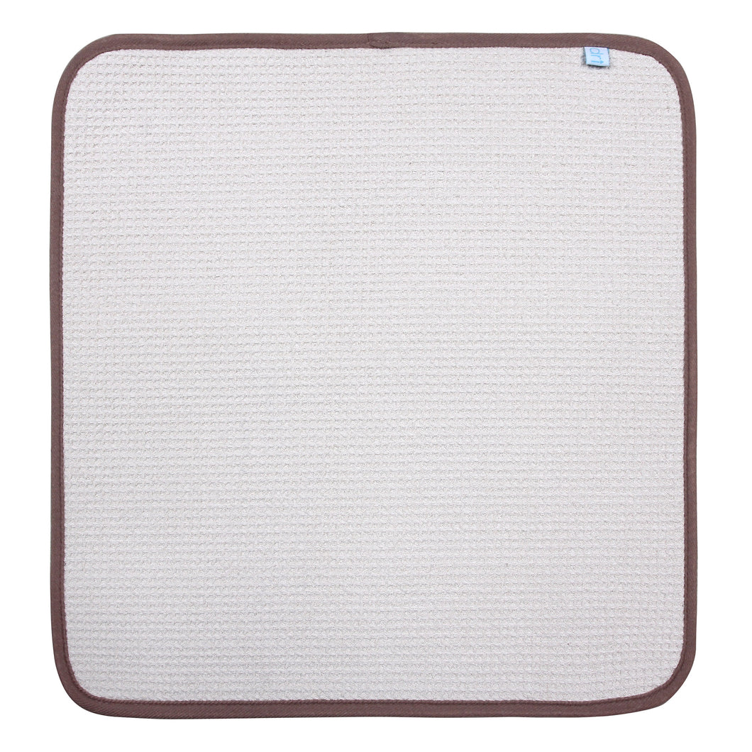 Microfiber Dish Drying Mat by DRI, 2 Sizes, Ivory
