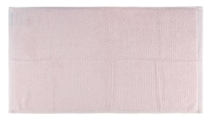 Diamond Jacquard Towels, Bath Towel Set - 10 Piece, Pale Pink