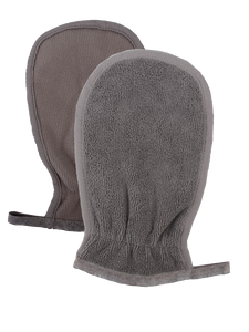 Microfiber Body Scrubbing Mitt, Set of 3