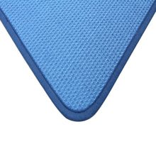 Microfiber Dish Drying Mat by DRI, 2 Sizes, Cornflower Blue