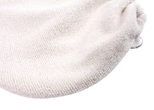 Microfiber Hair Turban for Long Hair, Set of 2 in White