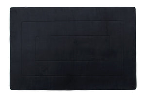 Memory Foam Area Rug, 40 x 64 in, Black