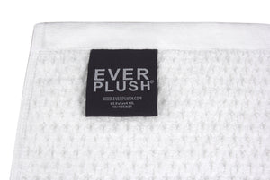 Diamond Jacquard Towels, 6 Piece Bath Sheet Towel Set, White Recycled