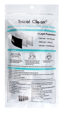 Disposable 3 Ply Face Mask in Black, 10 PK (non-medical)