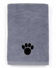 Ultra Absorbent Microfiber Pet Towel (Large (40 Inch by 28 Inch), Grey)