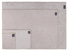 Diamond Jacquard Towels Bath Towel - 2 Pack, Khaki (Light Brown)