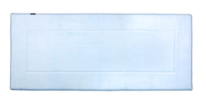 Memory Foam Runner in Sky Blue, 2 x 5 ft