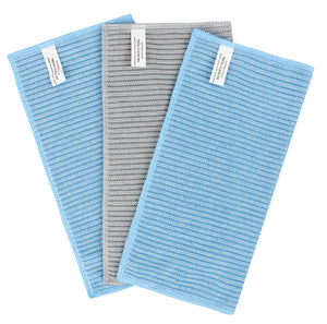 Ribbed Terry Kitchen Cloths, 3 Pack