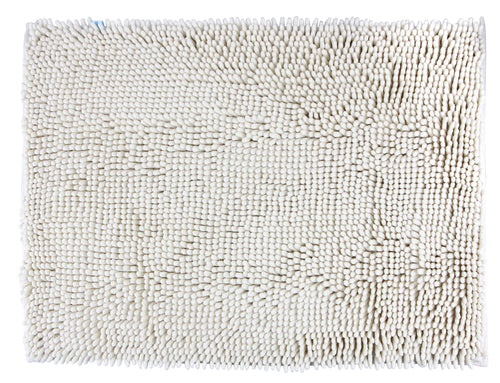 Chenille Accent Rug, 28 x 36 in, Ivory