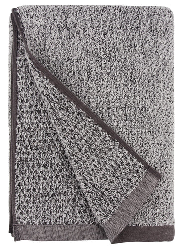 Diamond Jacquard Towels Bath Sheet Towel - 1 Piece, Grey