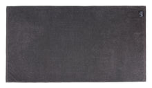 Diamond Jacquard Bath Towel - 1 Piece, Charcoal