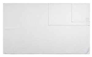 Diamond Jacquard Towels, Bath Towel - 1 Piece, White