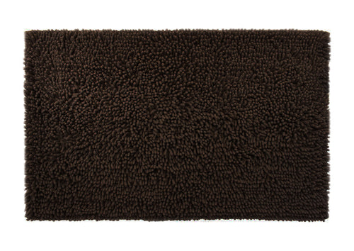 Chenille Accent Rug, 28 x 36 in, Coffee Brown