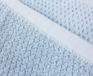 Diamond Jacquard Towels, Bath Sheet - 2 Pack, Aquamarine