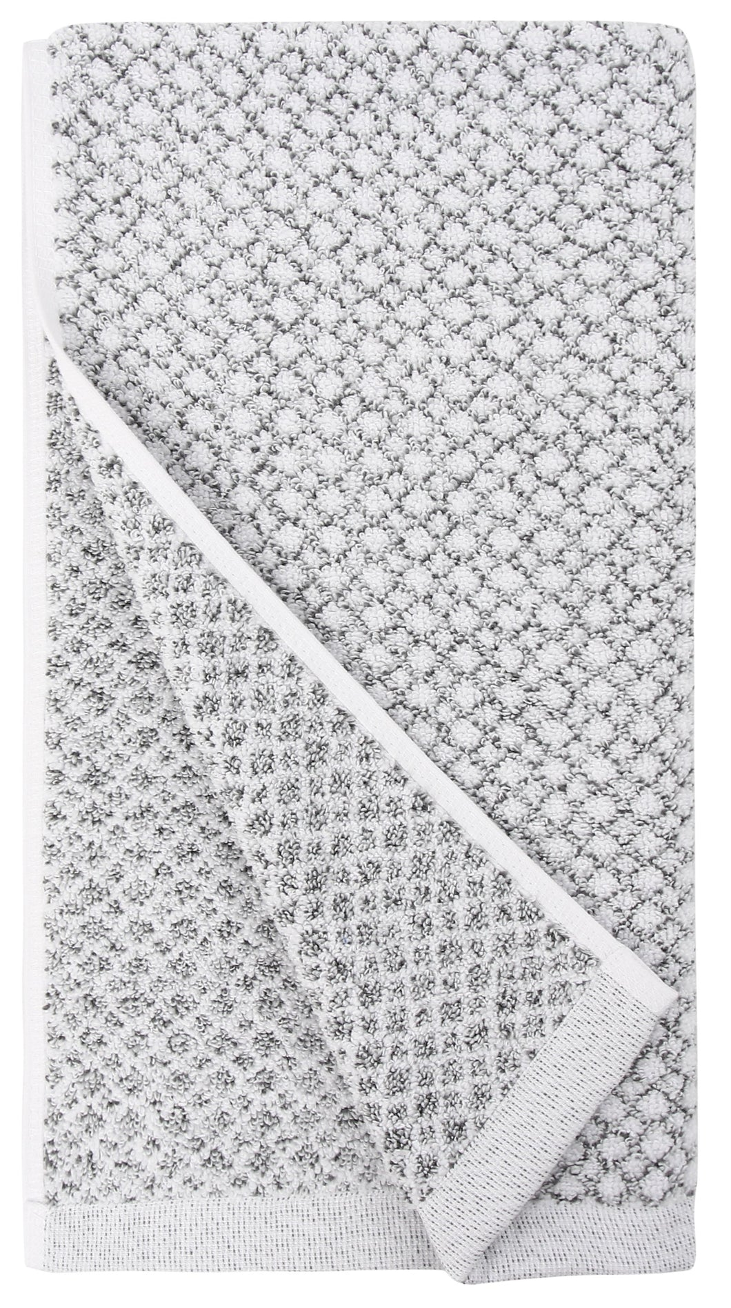 everplush hand towel grey white marble quick dry towel