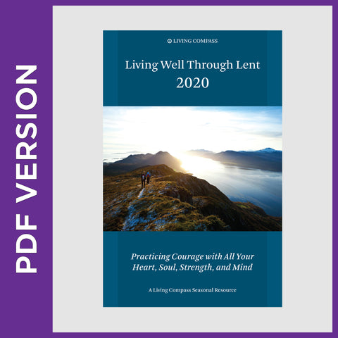 Living Well Through Lent 2020 (8.5 x 11 PDF version)