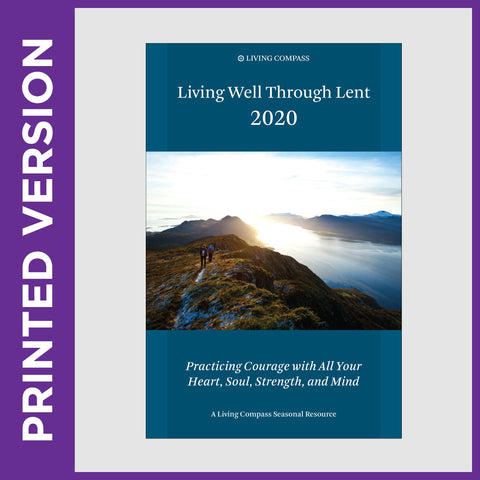 Living Well Through Lent 2020 (PRINT)