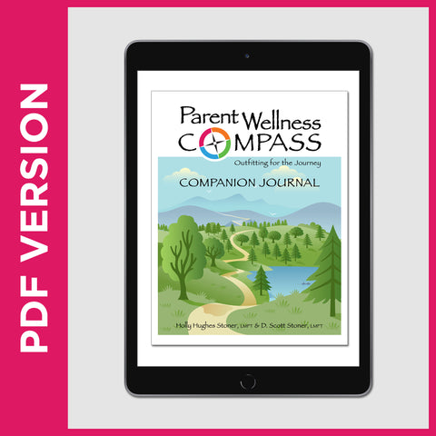 Parent Wellness Compass Companion Journal (PDF FILE - Secular)