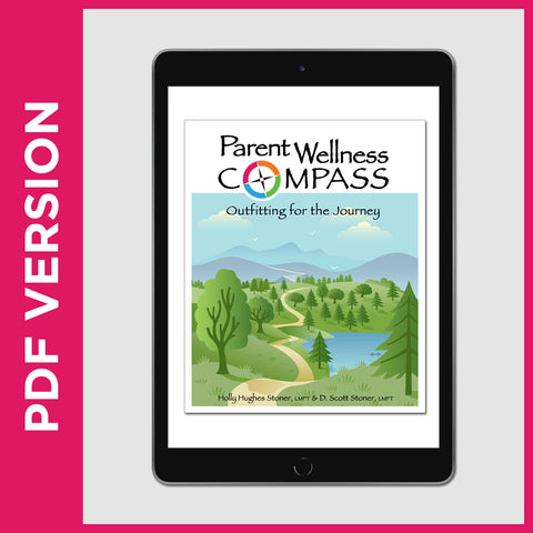 Parent Wellness Compass Book (PDF FILE - Secular)
