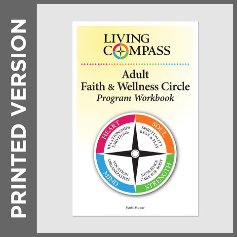Adult Faith and Wellness Participant Workbook (PRINT - Christian)