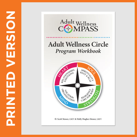 Adult Wellness Circle Program Workbook (PRINT - Secular)
