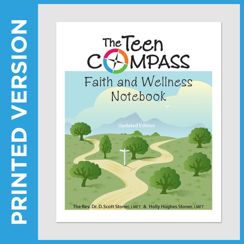 The Teen Compass Faith & Wellness Notebook (PRINT - Christian)