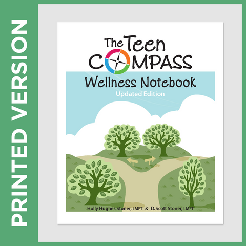 The Teen Compass Wellness Notebook (PRINT - Secular)