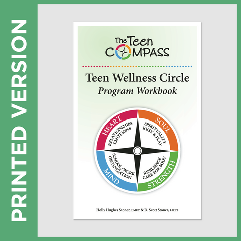 Teen Wellness Circle Program Workbook (PRINT - Secular)
