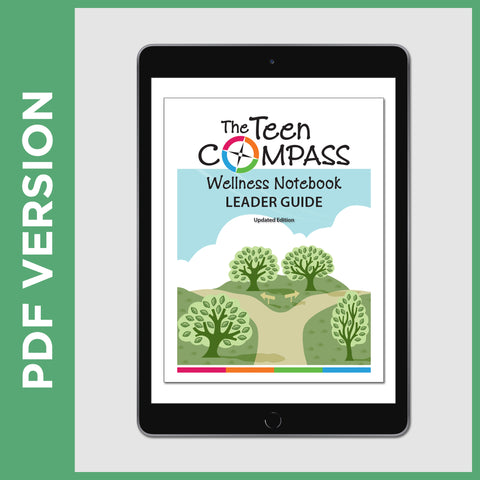 The Teen Compass Wellness Notebook Leader Guide (PDF FILE - Secular)