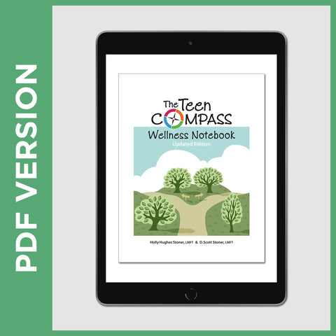 The Teen Compass Wellness Notebook (PDF FILE - Secular)