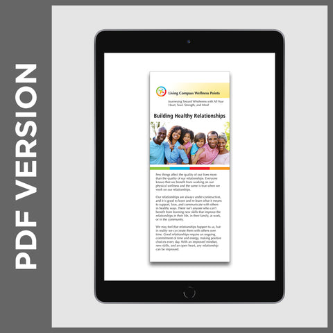 Building Healthy Relationships Pamphlet (PDF FILE)