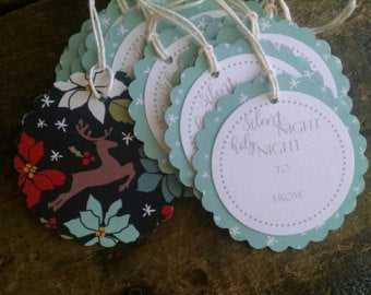 Silent Night Gift Tags