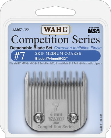 Wahl #7 Skip Blade Set 4mm