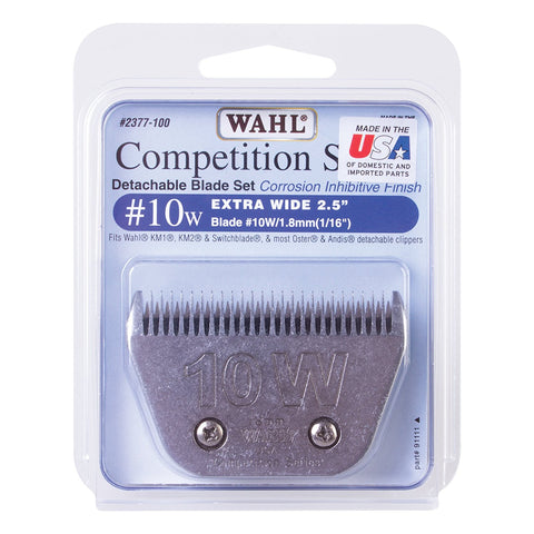 Wahl #10 Wide Cut Blade Set 2.5mm