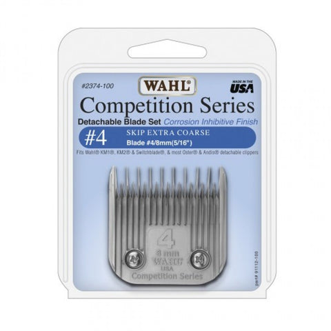 Wahl #4 Skip Blade Set 8mm