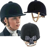 Charles Owen Showjumper XP Riding Helmet with Flesh Harness