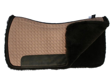 EA Mattes Western Fully Lined Square Pad