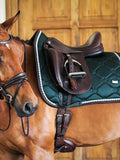 PS of Sweden Saddle Pad Monogram Emerald