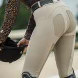 PerforMAX Full Seat Leather Breech w/Zip Front Slash Pockets