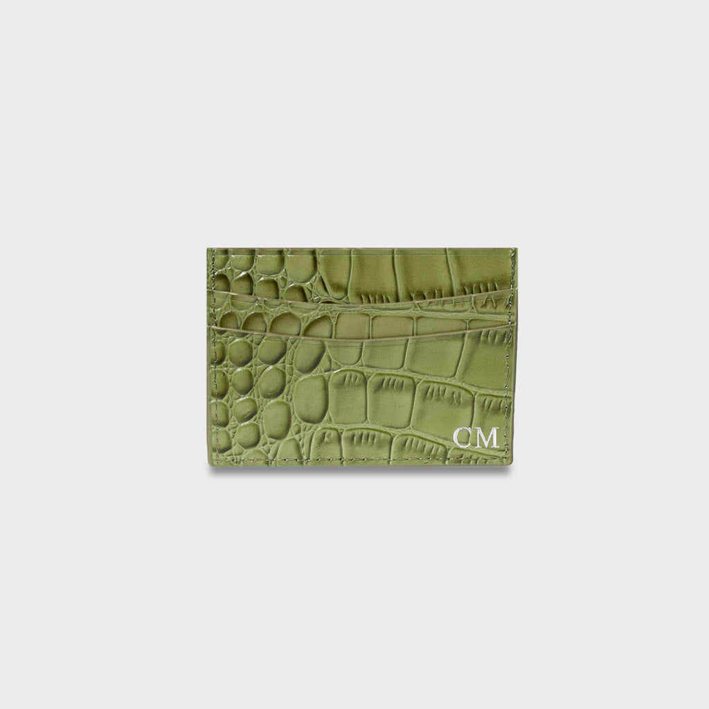 Limited Edition Camo Croc Cardholder